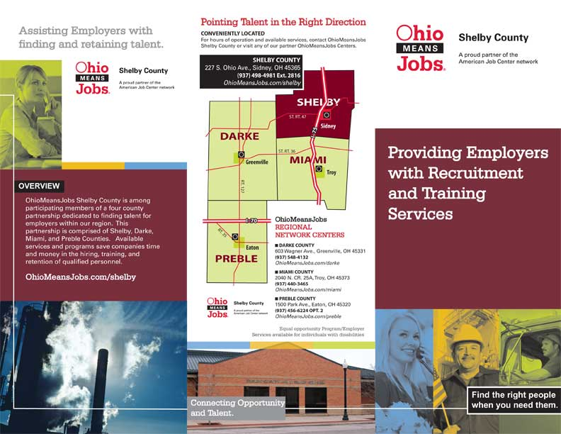 Shelby County Ohio Job Family Services Ohio Means Jobs