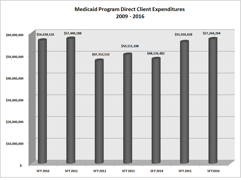Shelby County Ohio Job Family Services Administrative Medicaid Expenditures Report