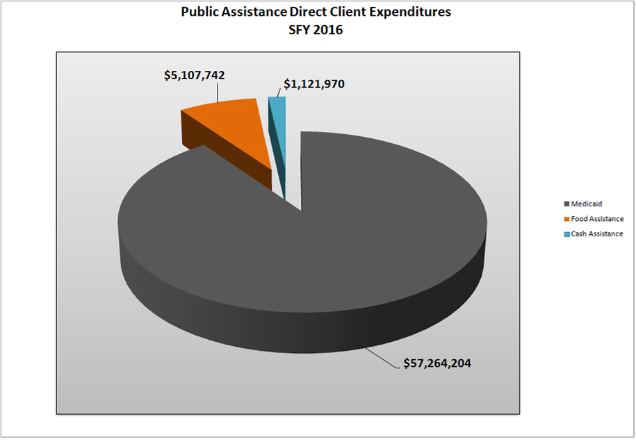 Shelby County Ohio Job Family Services Administrative Public Assistance Expenditures Report